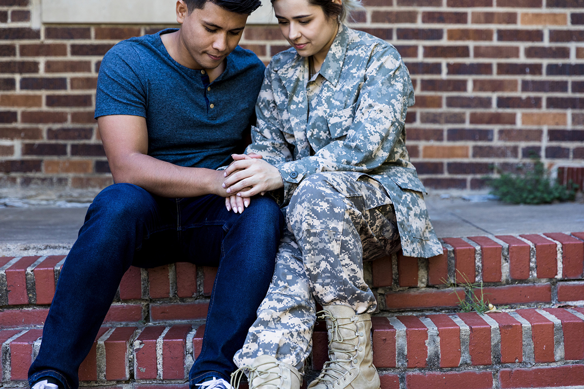 military families can help in the mental health pandemic